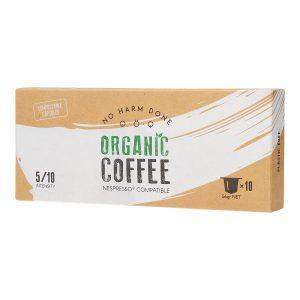 Organic Coffee | 10 Compostable Nespresso® Compatible Capsules