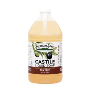 Vermont Tea Tree Castile Soap