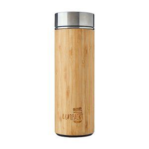 UnPackt Bamboo Vacuum Insulated Bottle