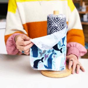 Marley's Monsters Holder + 24 pieces UNpaper Towels Set