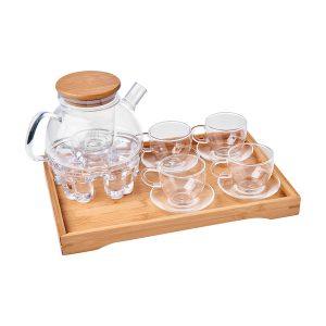 Tea Pot Burner Set
