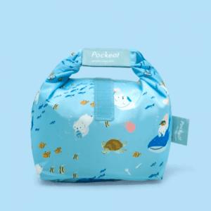 Pockeat Food Bag | Bear and Sea 白白與海
