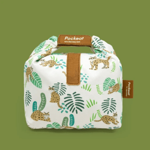 Pockeat Food Bag | Leopard cats 惜惜石虎