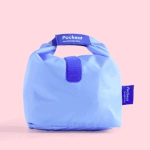Pockeat Food Bag | Monday Blue 星期一藍