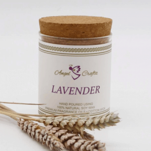 Angel Craftz Soy Wax Candle – Lavender