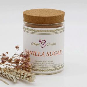 Angel Craftz Soy Wax Candle – Vanilla Sugar