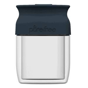 PureFree Double-Wall Glass Coffee Cup
