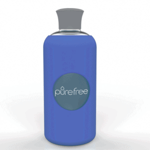 PureFree Borosilicate Bottle – Amico Deep Blue
