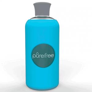 PureFree Borosilicate Bottle – Amico Sky Blue