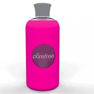 PureFree Borosilicate Bottle – Amico Fuchsia