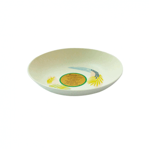 BambUSA 6.5 Inch Soup Plate (Tropical)
