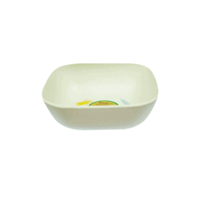 BambUSA 6 Inch Deep Square Bowl (Tropical)