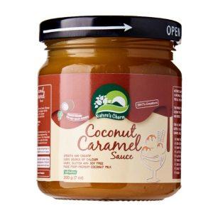 Nature's Charm Coconut Caramel Sauce 200g