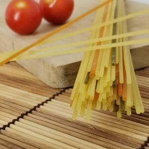 Organic Tricolour Spaghetti