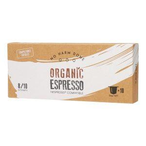 Organic Espresso | 10 Compostable Nespresso® Compatible Capsules