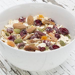 Fruit, nuts & seeds natural muesli 500g