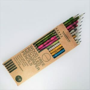 Wood Free Recycled Newspaper Pencils